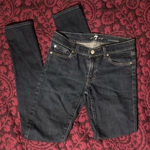 7 for all Mankind Dark Roxanne Jeans